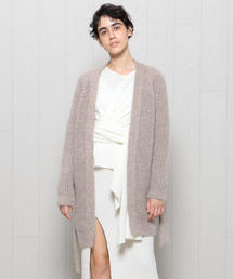<Priv. Spoons Club>MOHAIR KNIT GOWN CARDIGAN/ルームウェア.