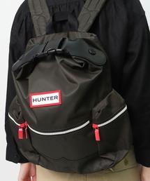 【HUNTER/ハンター】ORIGINAL MINI BACKPACK NYLON UBB6018ACD  HUT オリジナル トップクリップ バックパック/リュック- ナイロンダークオリーブ