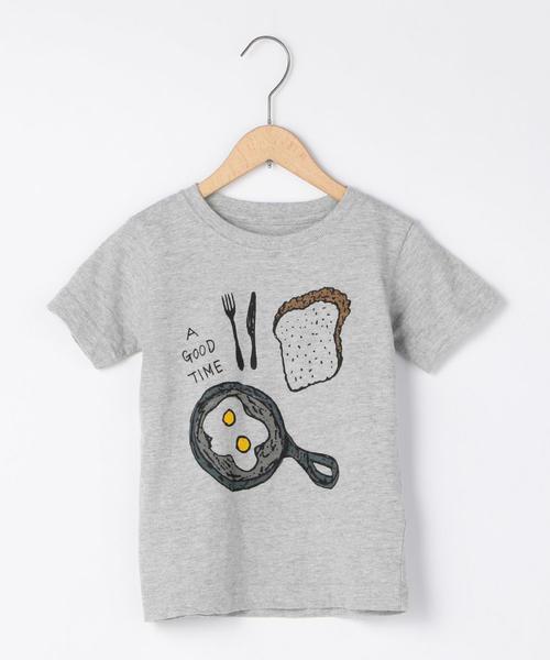 【ハッピープライス・coen キッズ/ジュニア】アウトドアプリントTシャツ
