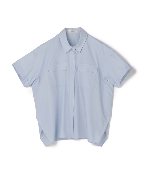 ESTNATION / ハーフスリーブビッグシャツ