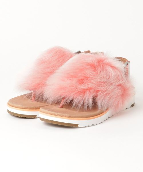 UGG W HOLLY (FUSION CORAL)