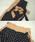 select MOCA(セレクトモカ)の「ジョーゼット素材で履き心地バツグン◆ウエストゴムリボンベルト付きドットハイウエストワイドパンツ(その他パンツ)」|詳細画像