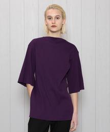 <PHEENY>WIDE RIB T-SHIRT/Tシャツ