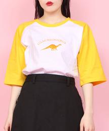 WC(ダブル シー)のWC/ザウルスラグランTシャツ(Tシャツ/カットソー)