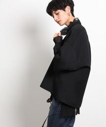 ROPE' mademoiselle(ロペマドモアゼル)の【2WAY】ダンボールビッグT(Tシャツ/カットソー)