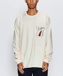<NULABEL> WELDER POC LS/Tシャツ