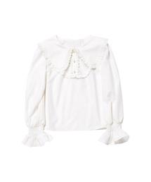 mille fille closet by LODISPOTTO(ミルフィーユクローゼットバイロディスポット)のMagicalビッグ襟ブラウス/ mille fille closet(シャツ/ブラウス)