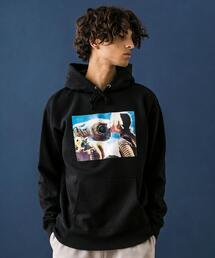 <E.T.> SWEAT HOODY MTEX/パーカー
