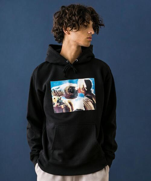 <E.T.> SWEAT HOODY MTEX/パーカー