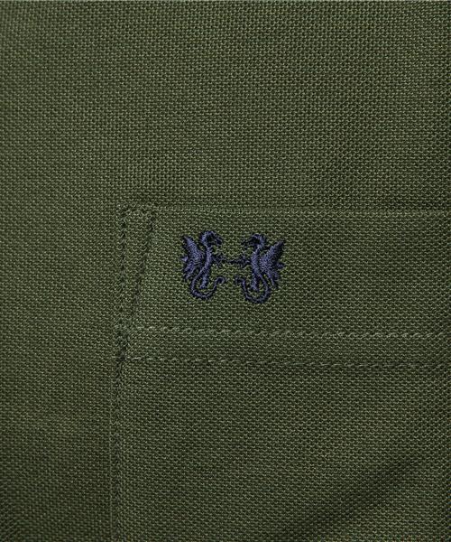 【Jクオリティー認証商品】無地鹿の子ポロ