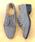 LibertyDoll(リバティードール)の「おじ靴、美脚マニッシュレースアップシューズ(ドレスシューズ)」|グレー