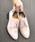 LibertyDoll(リバティードール)の「おじ靴、美脚マニッシュレースアップシューズ(ドレスシューズ)」|ピンク