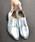 LibertyDoll(リバティードール)の「おじ靴、美脚マニッシュレースアップシューズ(ドレスシューズ)」|シルバー