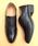 LibertyDoll(リバティードール)の「おじ靴、美脚マニッシュレースアップシューズ(ドレスシューズ)」|ブラック