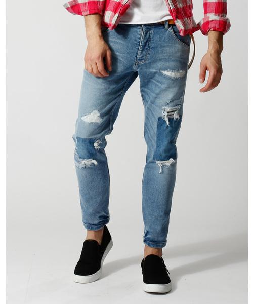 【超お買い得!】 tight knit-denim pants pants USED(デニムパンツ) knit-denim|wjk(ダヴルジェイケイ)のファッション通販, 西之表市:9dcfef93 --- 888tattoo.eu.org