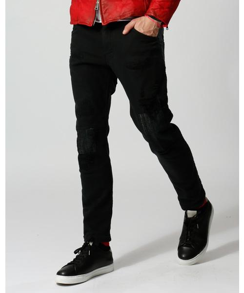 大割引 tight knit-denim pants USED(デニムパンツ)|wjk(ダヴルジェイケイ)のファッション通販, 【文具の月島堂】:63561630 --- 888tattoo.eu.org