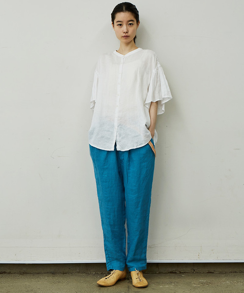 flared-sleeve blouse/フレアードスリーブブラウス