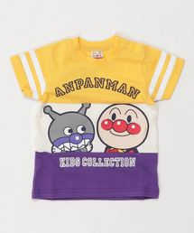 ANPANMAN KIDS COLLECTION(アンパンマンキッズコレクション)の【アンパンマン】生地切替半袖Tシャツ(Tシャツ/カットソー)
