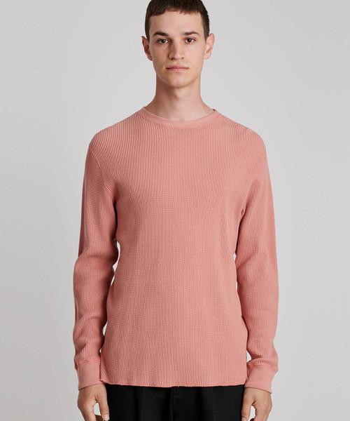 【返品?交換対象商品】 Alek Waffle Longsleeve T-Shirt, はせがわオンラインショップ 14e572e5