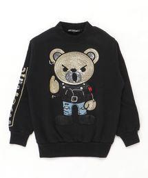 ROCKERS BEAR刺繍 スウェット【XS/S/M】ブラック