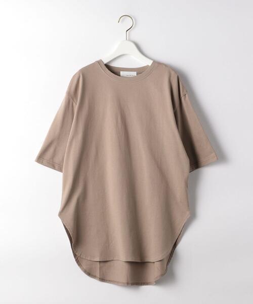 SC コットン スソ テール 5分袖 Tシャツ