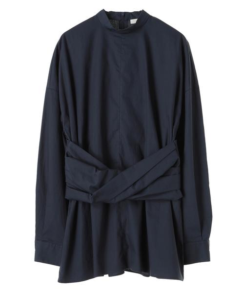 大特価放出! 【セール】TWIST WAIST SHIRT(シャツ WAIST/ブラウス) CLANE(クラネ)のファッション通販, バンダイマチ:da4145b5 --- 5613dcaibao.eu.org