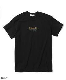 FREAK'S STORE」 Butter-Fly/バタフライ プリントTシャツ(Tシャツ/カットソー)
