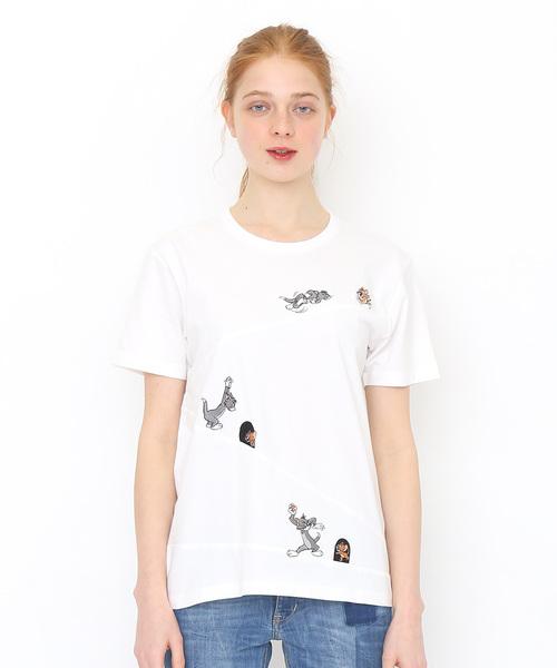 コラボレーションTシャツ/スロープチェイス(トムとジェリー)
