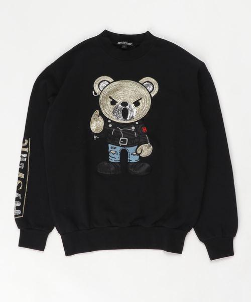 ROCKERS BEAR刺繍 スウェット【L】