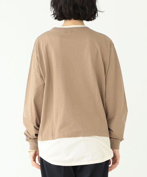 BEAMS BOY(ビームスボーイ)の「BEAMS BOY / レイヤード ポケット ロングスリーブ カットソー(Tシャツ/カットソー)」 詳細画像