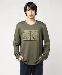モノグラム ボックス ロゴ ロングスリーブ Tシャツ(Tシャツ/カットソー)