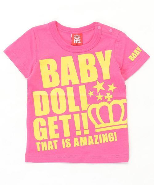 ロゴ メッセージ Tシャツ 2393K