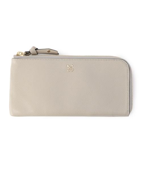 SAZABY(サザビー)の「TXE-05/財布(財布)」|シルバーグレー
