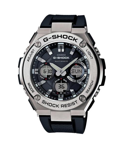 独特な店 G-STEEL(Gスチール)/ 電波ソーラー 電波ソーラー/// GST-W110-1AJF/ Gショック(腕時計)|G-SHOCK(ジーショック)のファッション通販, 靴のアプリコットタウン:d14c1a92 --- 5613dcaibao.eu.org