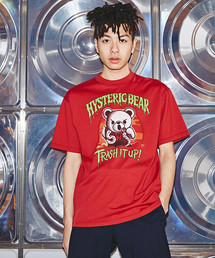 TRASH IT UP プリント Tシャツ