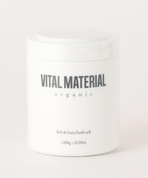 <VITAL MATERIAL>アロマハーブバスソルト Rose de GUERISON(ヒーリングローズ)