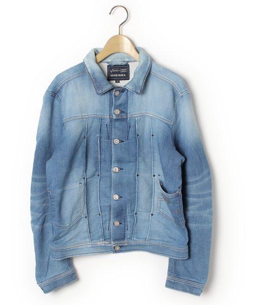 130933a6d3e5 DIESEL(ディーゼル)の古着「カジュアルジャケット(その他アウター)」|ブルー
