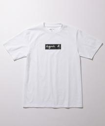 agnes b.(アニエスベー)の【agnes b. pour ADAM ET ROPE' 】T-SHIRTS BOX LOGO(Tシャツ/カットソー)