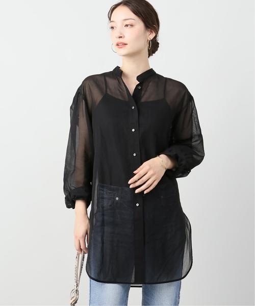 【限定特価】 オーガンジーシャツ◆, 口之津町 413e691d