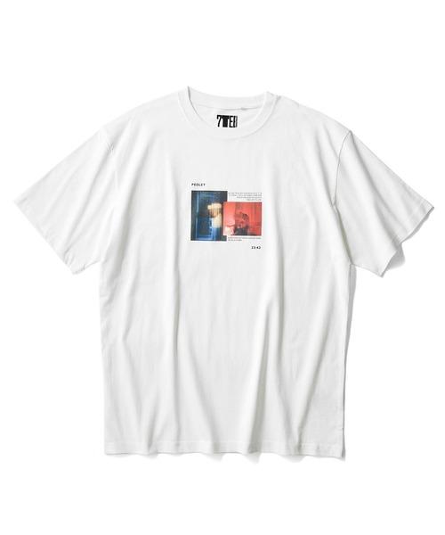 SEVENDAYS=SUNDAY(セブンデイズサンデイ)の「【2020春夏】パッケージPHOTOプリントTシャツ*(Tシャツ/カットソー)」 オフホワイト