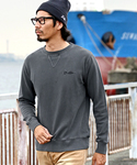 The DUFFER of ST.GEORGE | PIGMENT DYE CREW SWEAT:ピグメントスウェット(スウェット)