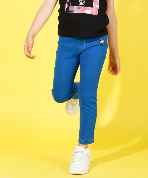 BABYDOLL(ベビードール)の「ウルトラストレッチパンツ/ロングパンツ/4310K(パンツ)」|ブルー