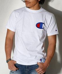 Champion(チャンピオン)の【Champion/チャンピオン】アクションスタイル ビッグロゴ ステッチTシャツ(Tシャツ/カットソー)