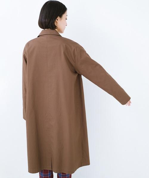 パッと着てオシャレなだけでなく こっそり裏地がかわいいトレンチコート