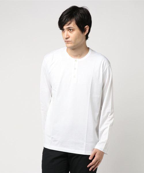 【handvaerk】ヘンリーネックTシャツ MEN