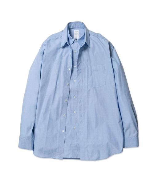 【オープニング 大放出セール】 DOUBLE FRONT FRONT SHIRT(シャツ/ブラウス) MISTERGENTLEMAN(ミスタージェントルマン)のファッション通販, 東北ハッピー農園:1cb858ca --- kredo24.ru
