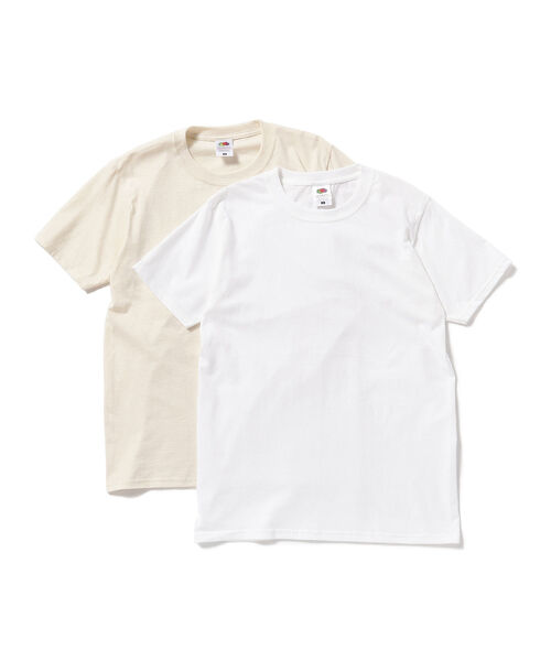 FRUIT OF THE LOOM × BEAMS BOY / 2packs-Tシャツ