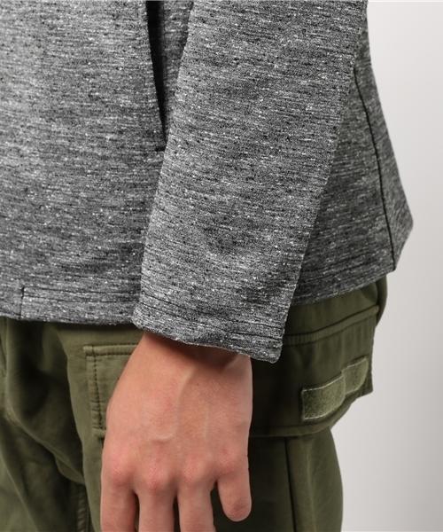 ネップツイードカットジャケット