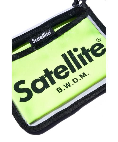 【 Satellite / サテライト 】 CLEAR / クリアサコッシュ / サコッシュ / ミニショルダー