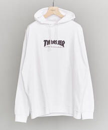 【別注】 <THRASHER> LONG SLEEVE T-PARKA/パーカー
